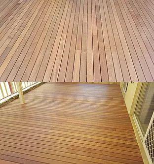 Merbau timber decking Perth