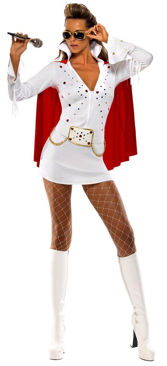 Celebrity Theme: Elvis Viva Las Vegas Costume