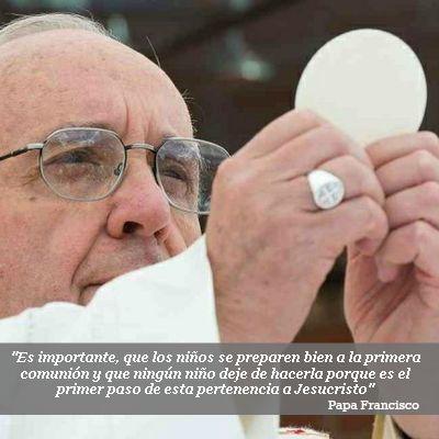 Catequesis del #PapaFrancisco sobre la Eucaristía desde la Plaza de San Pedro.