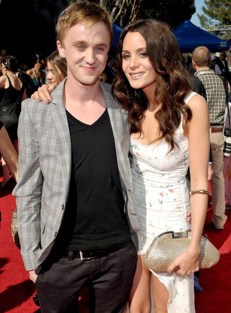 Harry Potter fame, Tom Felton with girlfriend Jade Olivia...