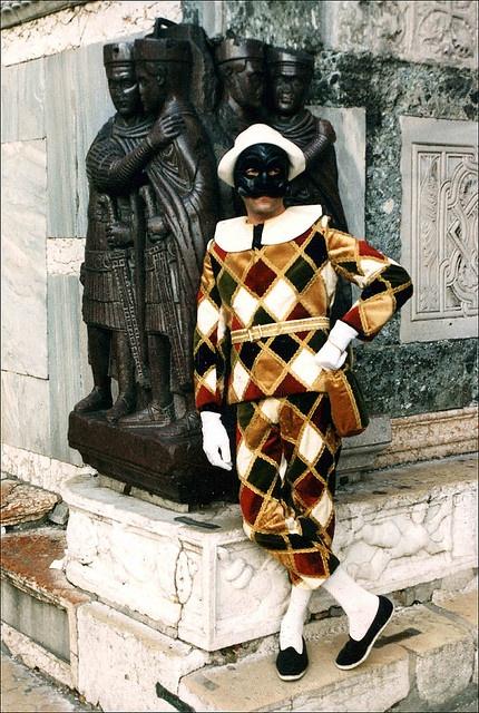 * mat * Venice Carnival - Harlequin by shipscompass, via Flickr