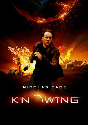 Knowing (mysterie/drama/katastrofe/sci-fi) En MIT-professor i astrofysik og hans søn finder en talrække fra en tidskapsel, som ser ud til at afsløre en katastrofe, der vil udslette menneskeheden.