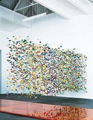Pae White's sculptures inspire your mind to float.: