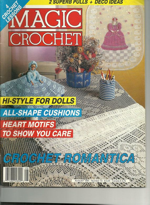 Magic Crochet Magazine August 1991