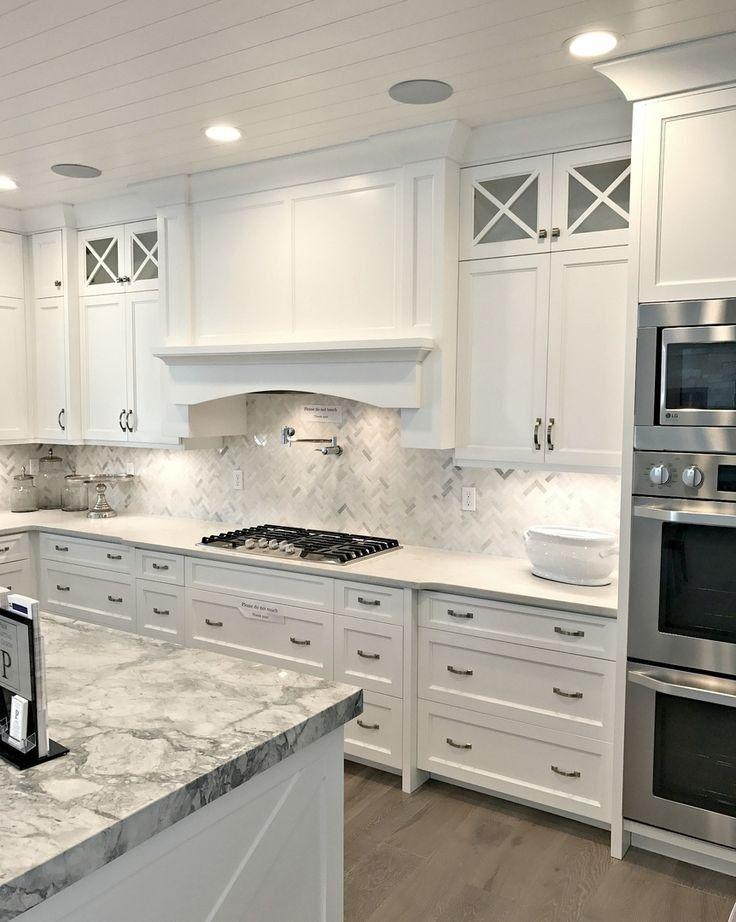 Stunning White Kitchen Cabinet Decor For 2020 Design Ideas 4 5rbesh Com In 2020 Kitchen Cabinets Decor Kitchen Cabinet Design Kitchen Inspiration Design
