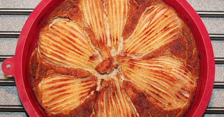 Ciasto gruszkowe bez cukru