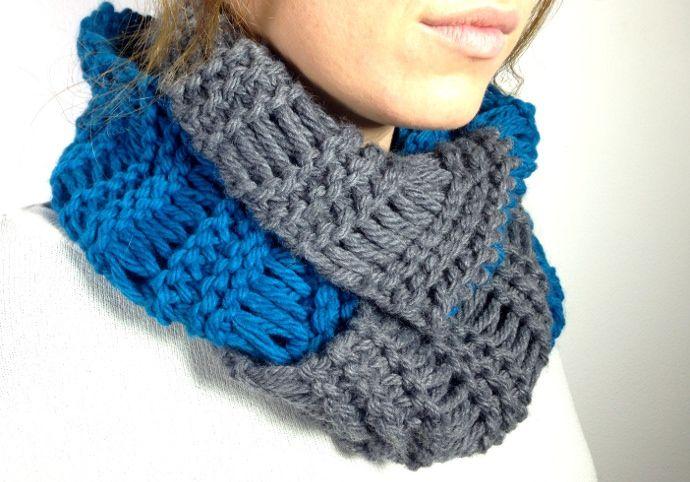 Rectangular Loom Knitting Patterns For Beginners : Images about telar circular y rectangular on