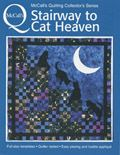 stairway to cat heavenBlue Blue, Heavens Pattern, Cat Quilt, I Love Cat, Colors Blue, Blue Colors, Cat Lovers, Cat Heavens, Quilt Pattern