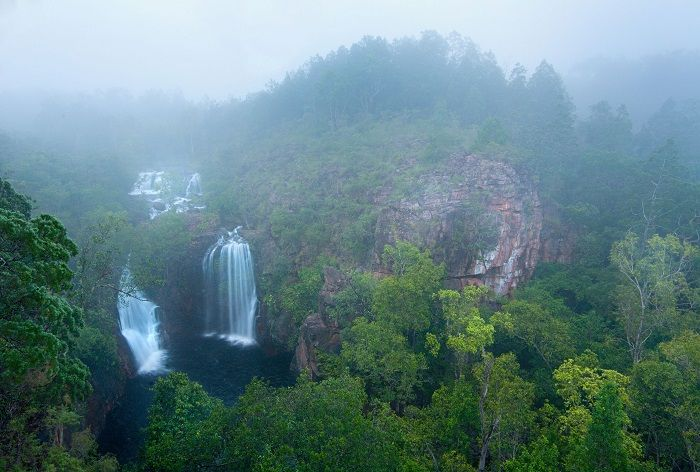You may have heard of Kakadu National Park, but make sure you check out Litchfield National Park when you are visiting Darwin to see the impressive Florence Falls