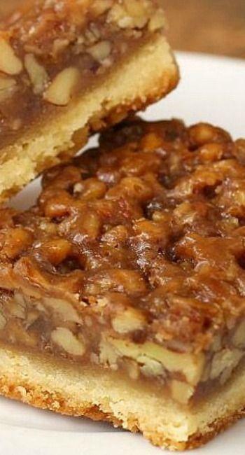 The Best Ever! Pecan Pie Bars