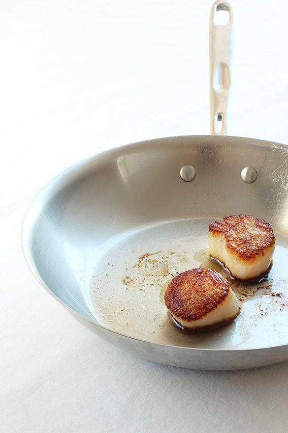 Seared Scallops by La Domestique