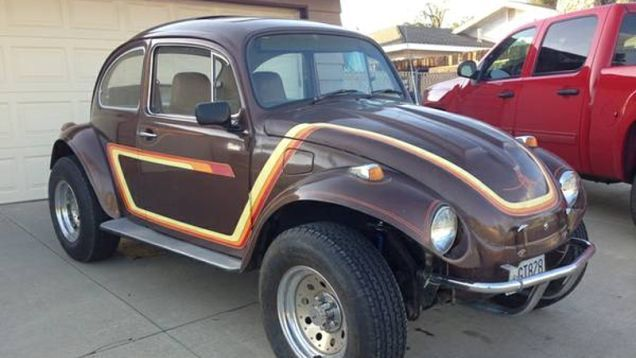 For $3,850, This 1970 VW Baja Bug Looks Ready To Run For The Border