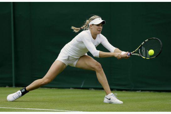 Canada's Eugenie Bouchard tough enough to survive pro tennis racket