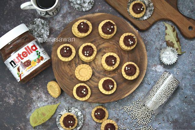 Tart Nutella Resepi Terbaik Nutella Tar Resep Biskuit