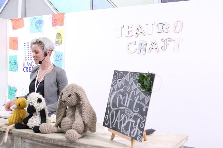 Kerry Lord al Teatro Craft di Craft Your Party
