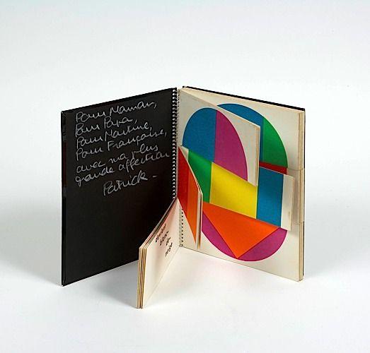 P. Raynaud 13824 jeux de couleurs de formes et de mots Ed. de la Galerie de Varenne, 1972.