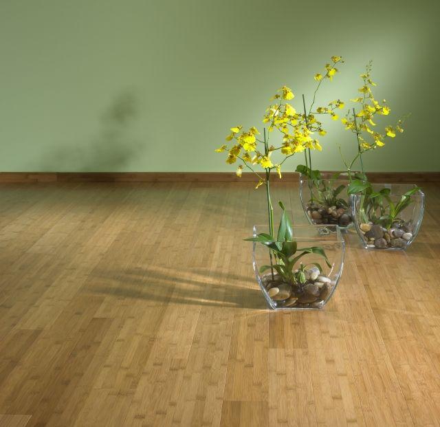 Parquet Bamboo Caramel Verticale Laccato. #pavimenti in #parquet #flooring #wood #interiors #design