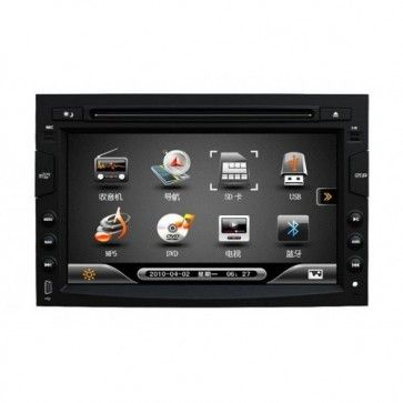 Autoradio DVD GPS Peugeot 3008 avec écran tactile & function Bluetooth,USB,TV,Can Bus,Ipod