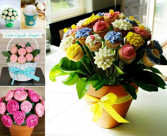 Cupcake Bouquet Instructions Are So Easy | The WHOot