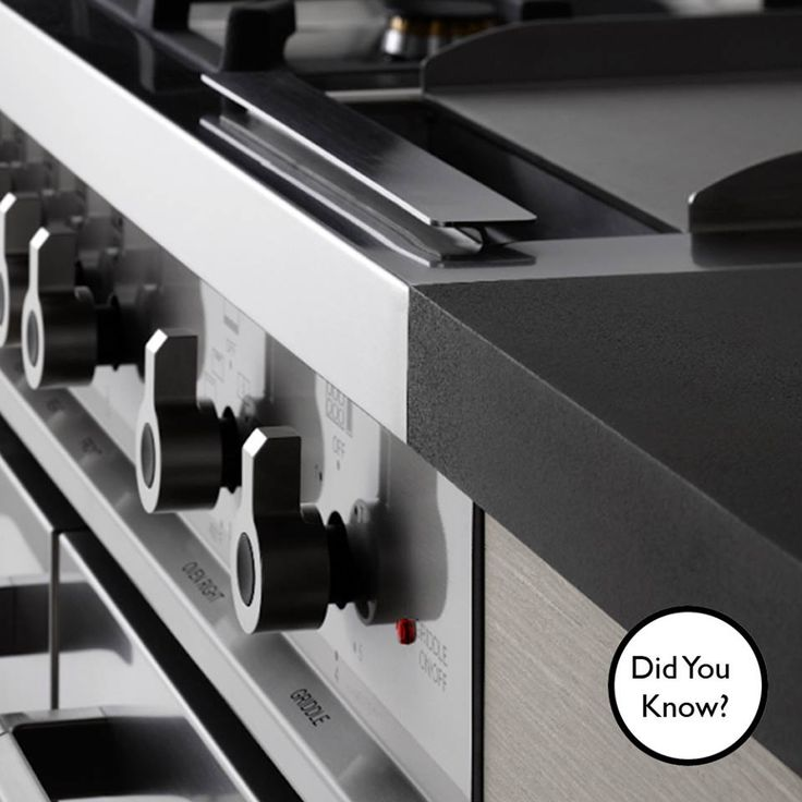 #DidYouKnow? The #Bertazzoni Hybrid 90 cm  oven has 6 burners! It also features an electric broiler with a balanced air-flow convection fan. #SmartCooking #ItalianStyle from #ChefsPride!