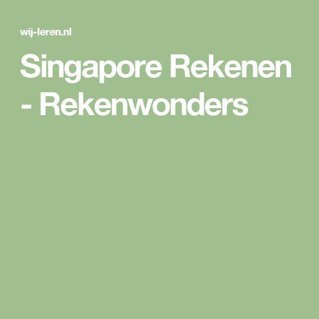 Singapore Rekenen - Rekenwonders