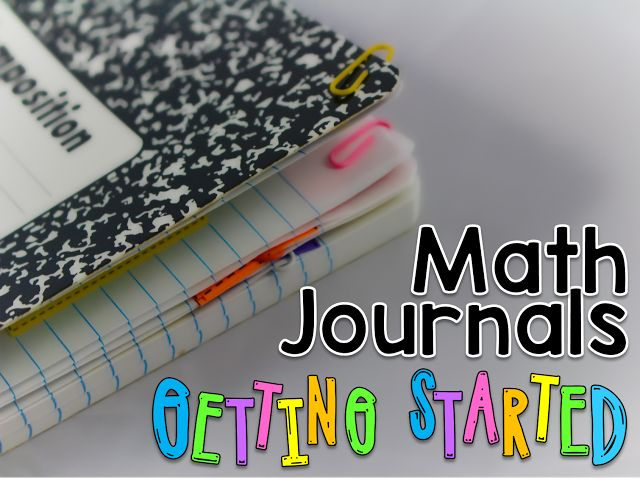 Great ideas for implementing math journal during guided math. This step by step guide makes it seem so easy and doable.