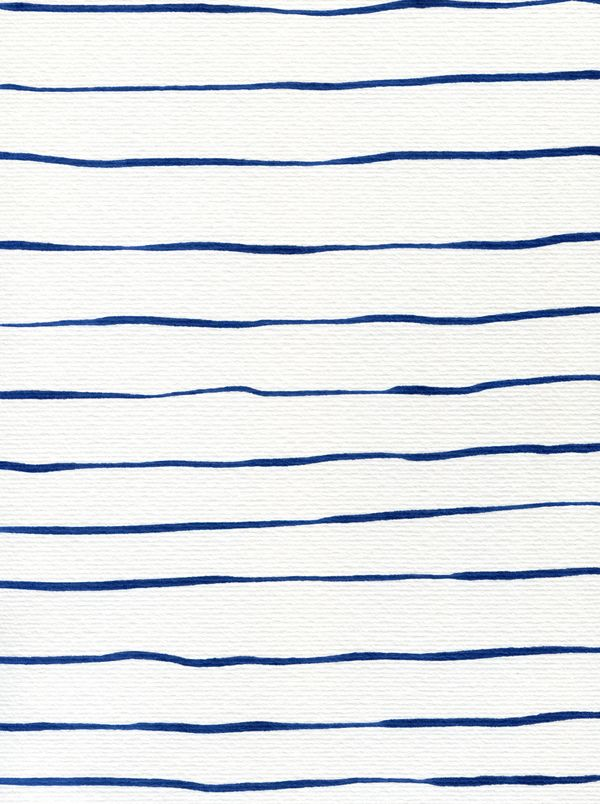 Blue Stripes by Georgiana Paraschiv on Artfully Walls