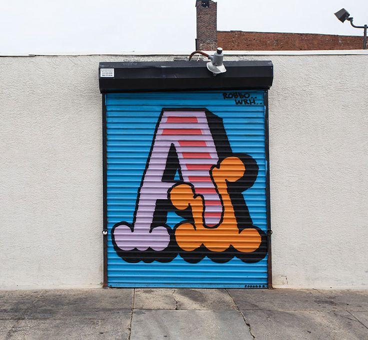 Ben Eine A to Z (and Then Some) in Philadelphia