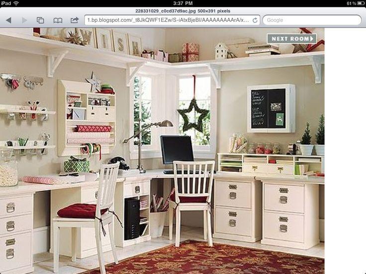 Craft Room Ideas Craft Room Office Pinterest