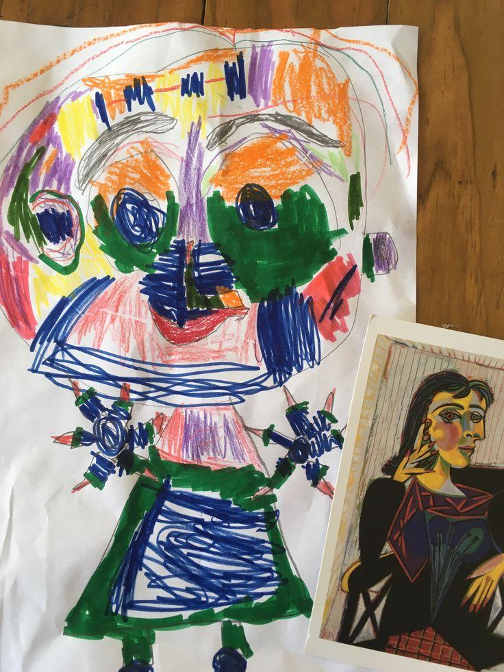 Dora Maar by Aoife   5 years old