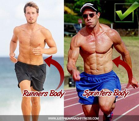 Sprinters build