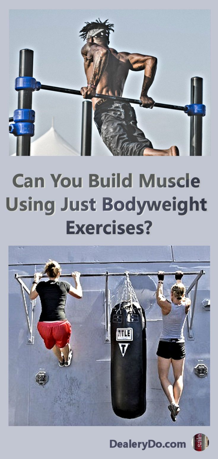 """Can You Build Muscle Using Just Bodyweight Exercises? - The real question is """"Why are you putting on muscle?"""" If your goal is to compete in bodybuilding competitions, then only using bodyweight training exercises will not get you there."""