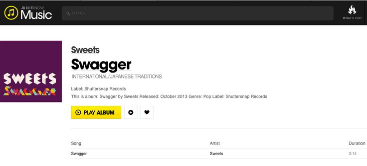 JB Hifi - Swagger purchase listing