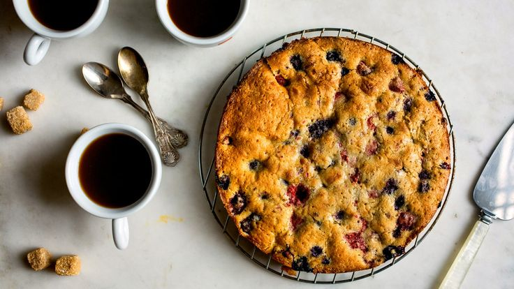 Melissa Clark makes a buckle with copious amounts of fruit and just enough batter to bind it together.