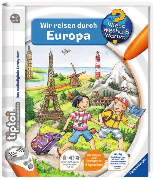 Ravensburger tiptoi Buch Wieso? Weshalb? Warum? Wir reisen durch Europsparen25.info , sparen25.de , sparen25.com