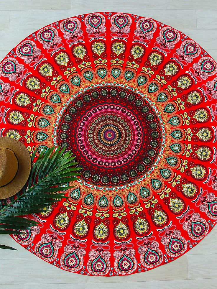 Shop Red Tribal Print Round Beach Blanket online. SheIn offers Red Tribal Print Round Beach Blanket & more to fit your fashionable needs.