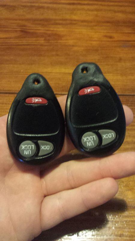 Make new car fob keychain holes