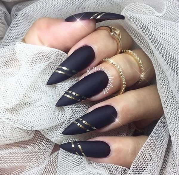 The 25 best stiletto nail designs ideas on pinterest stiletto 40 pictures of acrylic nail designs prinsesfo Choice Image