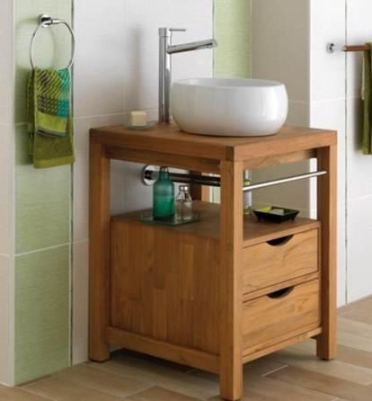 184 best Des vasques et des robinets images on Pinterest Faucets - Meuble De Salle De Bain Sans Vasque