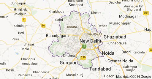 Get Detailed Map Of Delhi By Landkhojcom City Maps Pinterest - Ghaziabad map