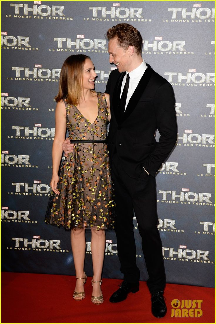 Natalie Portman & Tom Hiddleston: 'Thor' Paris Premiere