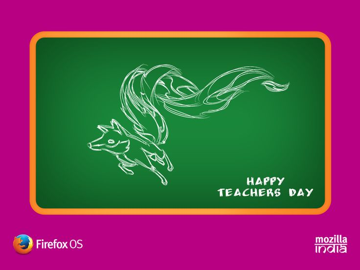 """""""You are not only our teacher, You are our friend, philosopher and guide. All molded into one person"""" Happy #TeachersDay wishes from Firefox Student Ambassadors - #India"""