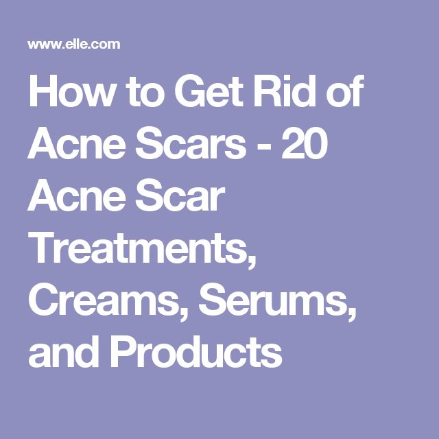 how to get rid of spot scars on face