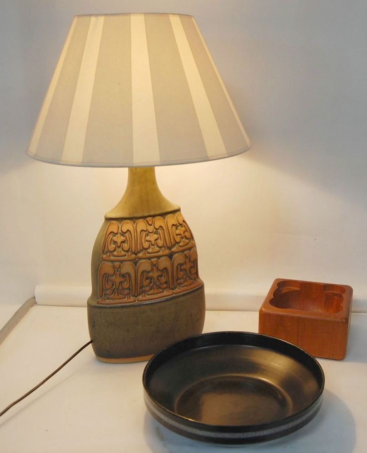 89 best retro vintage lighting images on pinterest vintage retro 1970s large tremar english pottery ceramic light lamp fwo rewired greentooth Choice Image