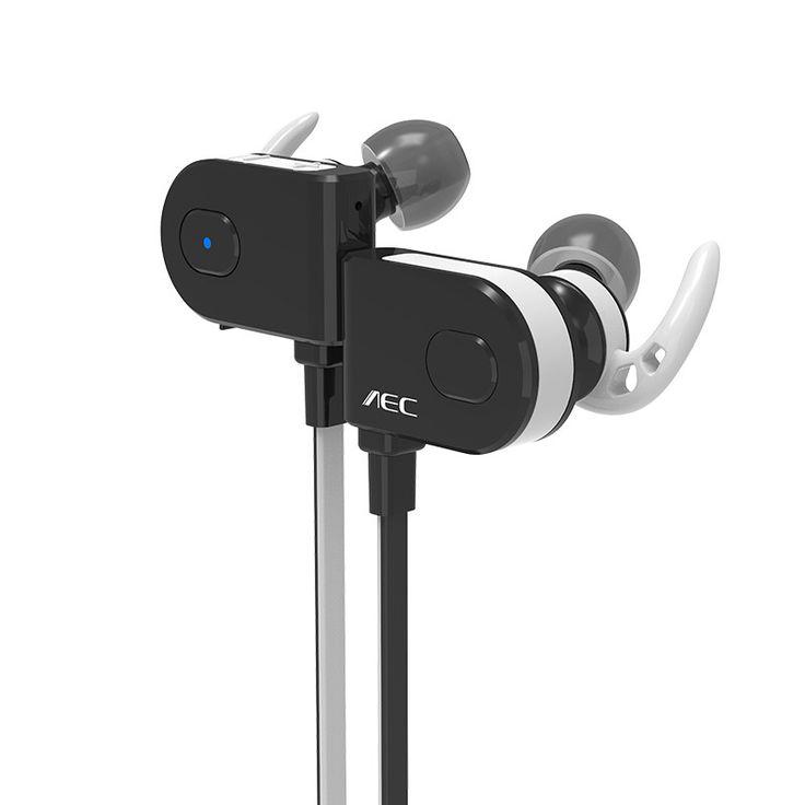 AEC Super Bass In-ear Earphones Wireless Stereo Bluetooth 4.1 Headphone headset stereo Sports Earphone for iPhone Samsung