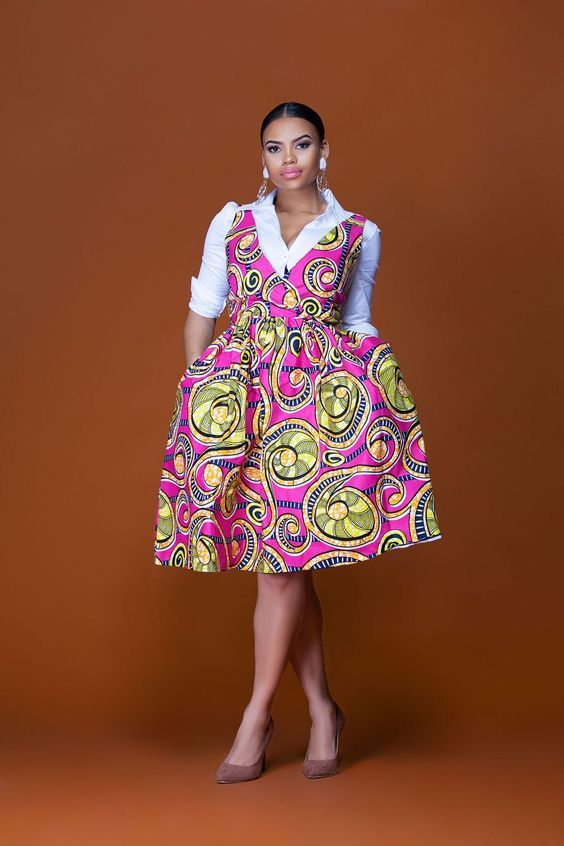 Short African Dresses 2018  Recent African Dresses Collection