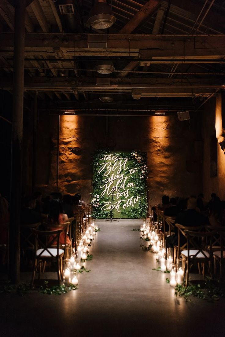 Industrial Wedding in Toronto with an Enchanted Forest Reception