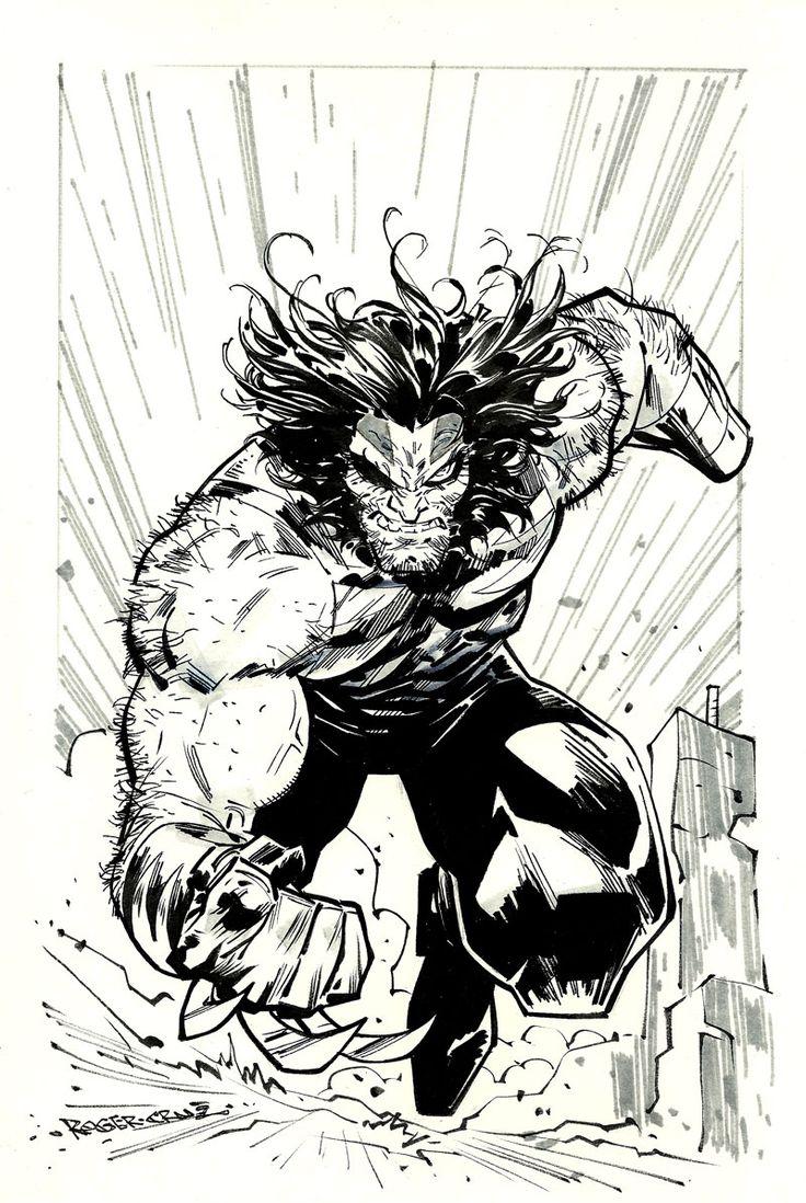 wolverine (Age of Apocalypse) by rogercruz.deviantart.com on @DeviantArt