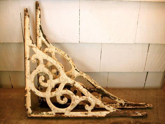 Vintage Shelf Brackets Iron Shelf Bracket Wall Bracket