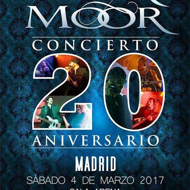 Dark Moor Concierto 20 Aniversario!   Sábado 4 de Marzo 2017, Sala Arena, Madrid.  Entradas ya a la venta en Ticketmaster y Ticketea.    #darkmoor  #concierto   #madrid